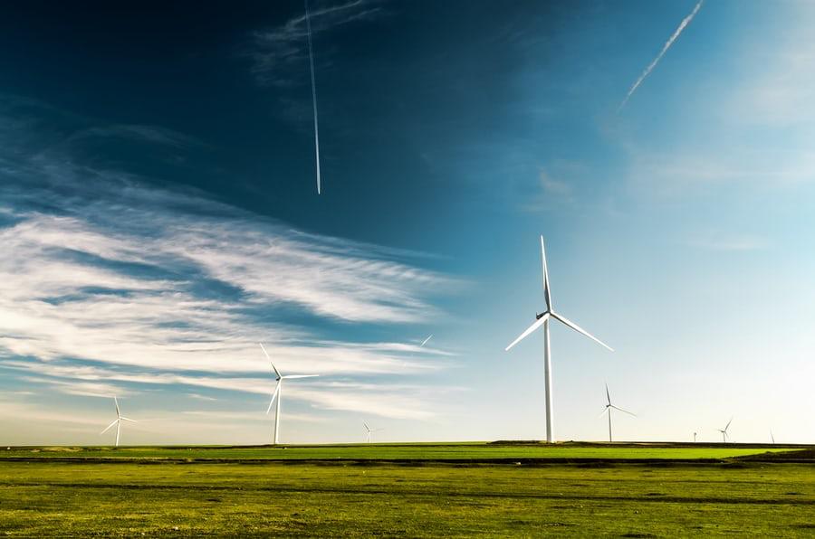 Windproduktion und öffentliche Auflage