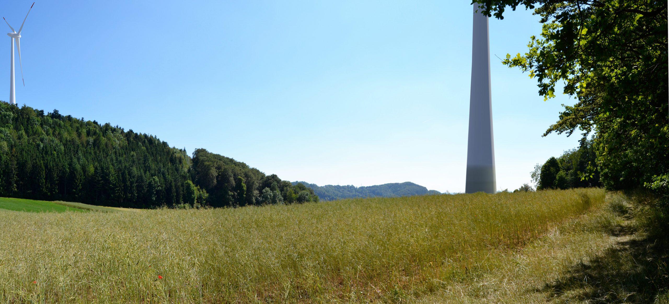 Neues Konzept Windenergie