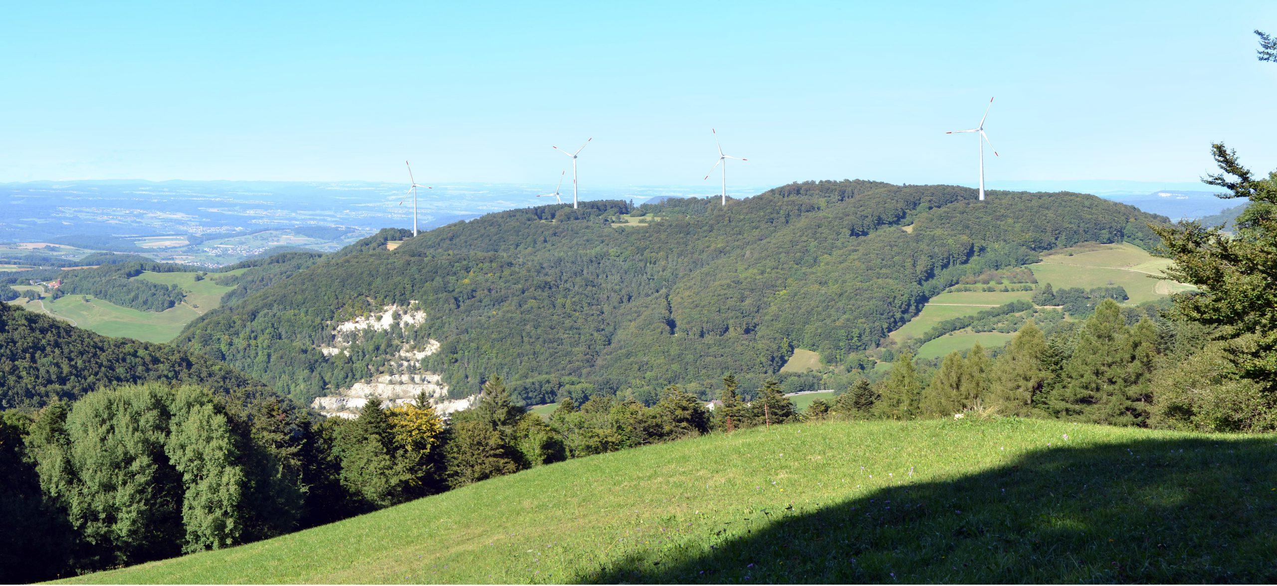 Neue Winddaten der Schweiz